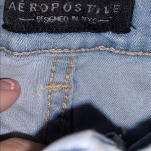 Aeropostale might washed jeans